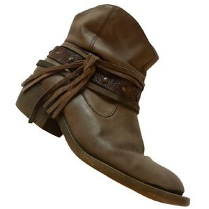 Maurices tassel booties